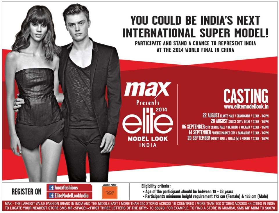 Max Fashion India Store Locator