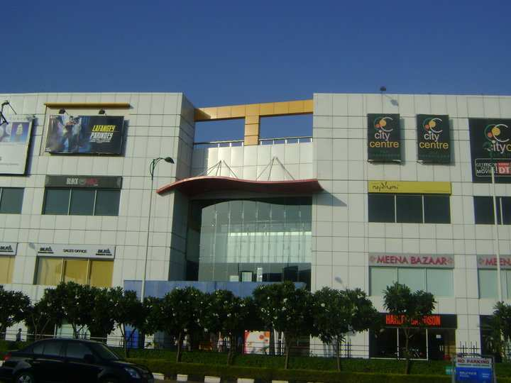 Food Court In Dt Mall Chandigarh
