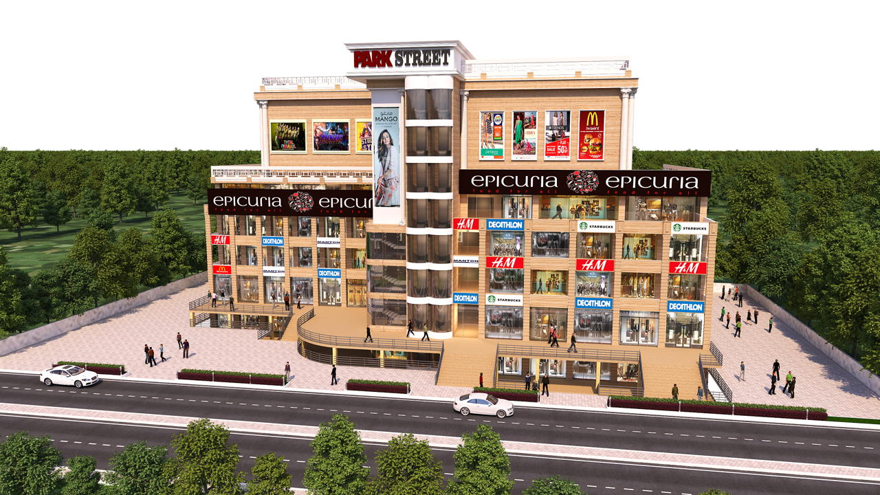 Delhi's most happening & successful Food court EPICURIA to come up at TDI's Park Street Mohali