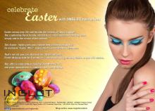 Celebrate Easter, Inglot Cosmetics, Exclusive Easter offer, Free Pastel Makeup Look, 31 March 2013
