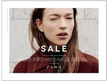 The sale at Zara Mohali Stores starts on 26 December 2015