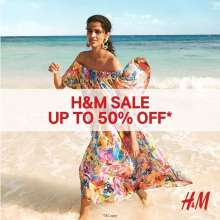 H&M SALE up to 50% OFF is here!