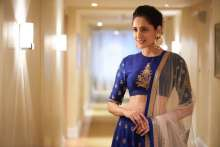 Pragya Jaiswal wearing Shillpa Purii Designer Jewellery for the 18th Ugadi Awards